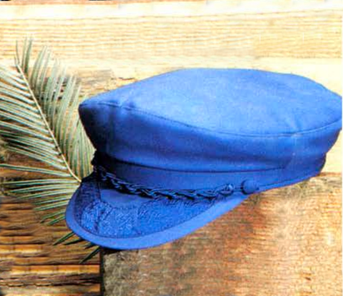 Greek Cap Captain Mac's Cap