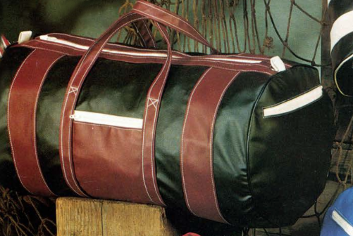 The Commodore Travel Bag