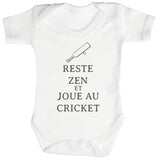 Reste Zen et Cricket Body bébé