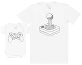 Retro & Modern Players - Hommes T-shirt & Body bébé