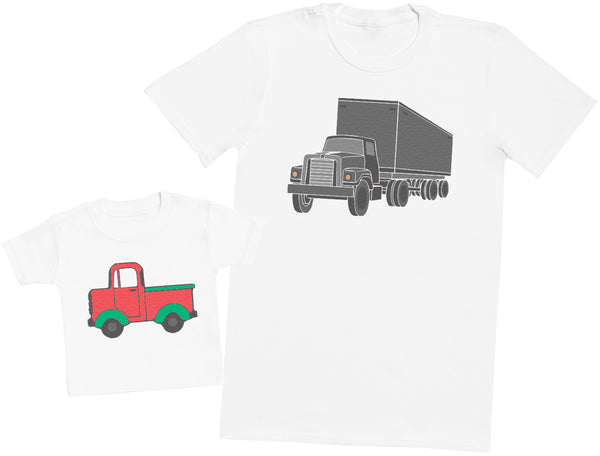Truck And Toy Truck - Hommes T-shirt & T-Shirt bébé