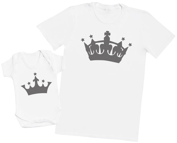 King And Princess - Hommes T-shirt & Body bébé