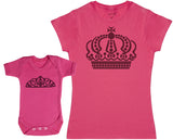 Queen And Princess Crowns - Femme T Shirt & bébé bodys