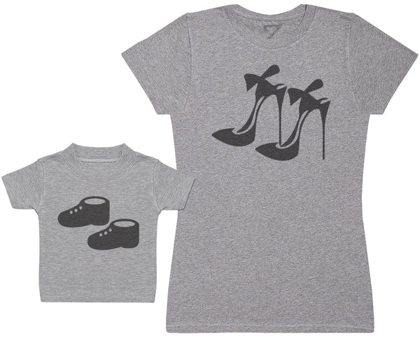 High Heels And Baby Booties - Femme T Shirt & bébé T-Shirt