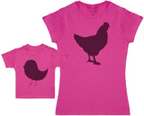 Mother Hen And Chick - Femme T Shirt & bébé T-Shirt