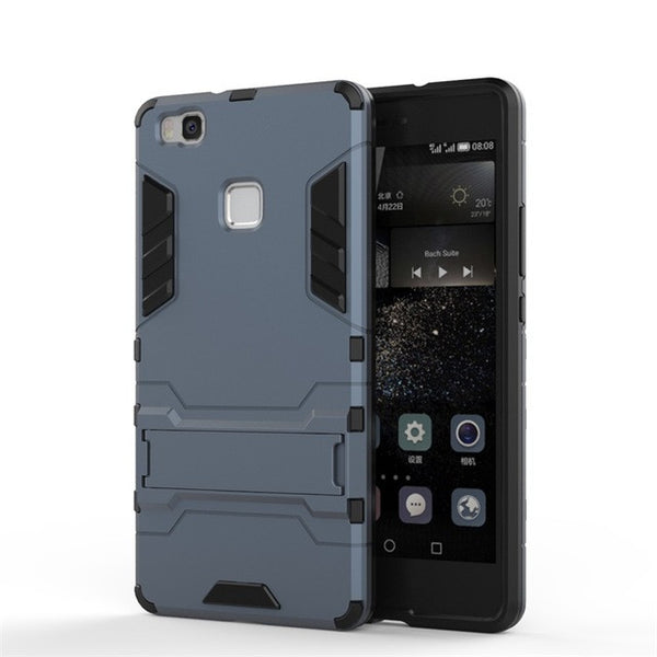 Armor Protector Hybrid Rugged Rubber Phone Case for Huawei Ascend P9 lite