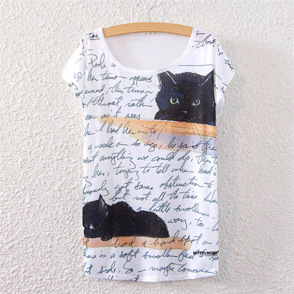 Black Kitty Women's Shirt