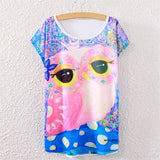 Pink Owl Women's Shirt