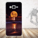Scenery Pattern Soft Phone Case for Samsung Grand Prime G530Y G530FZ G531