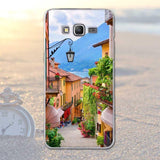 Scenery Pattern Soft Phone Case for Samsung Grand Prime