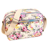 Pink Small Floral Crossbody Messenger Handbag