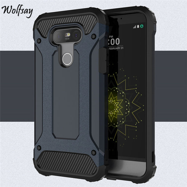 Hybrid Durable Armor TPU & Phone Case for LG