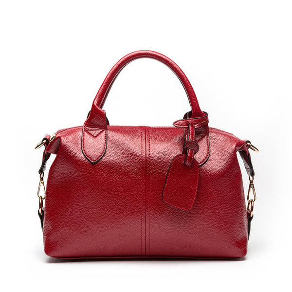 Soft Vegan Leather Versatile Handbag