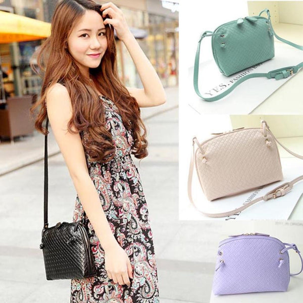 Spring Colors Vegan Leather Shoulder Bags