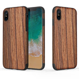 Wood Grain Series for iPhone X Case