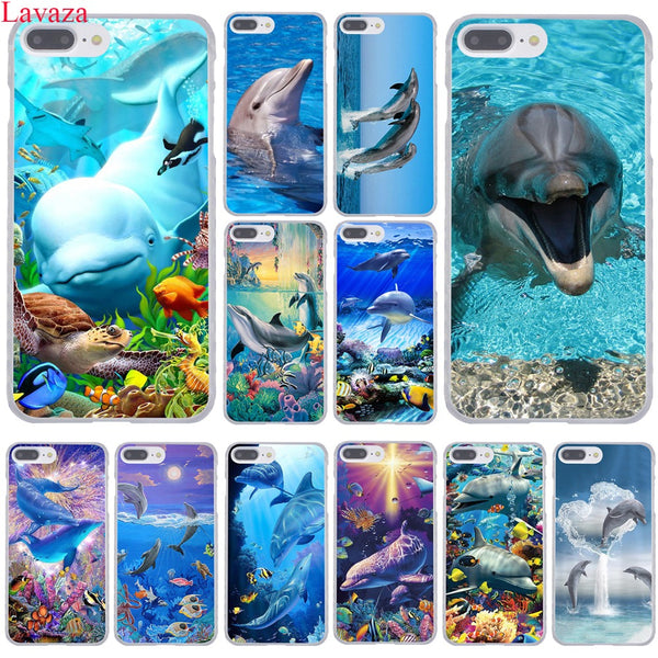 Dolphins and Oceans Phones Cases for iPhone X / 8 / 7 / 6 / 5 Models