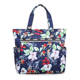Large Floral Printed Handbag