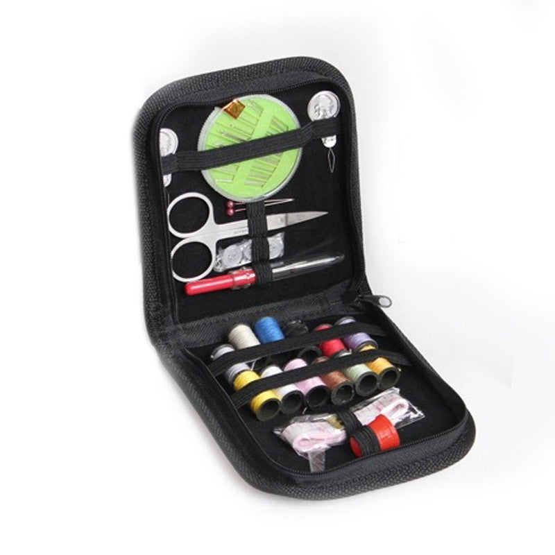Embroidery Sewing Kit for Home Travel & Emergencies Filled with Quality Notions Scissor & Thread Great Gift