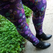 Victorian Steampunk - Yoga Waist Leggings