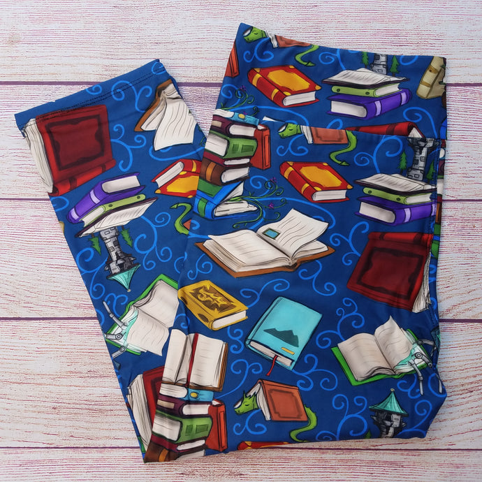 Bookish - Butter Capri