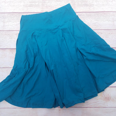 Midi Pocket Skirt - Teal