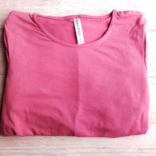 Ultra Soft 3/4 Sleeve Tunic in Rose