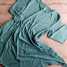 Ultra Soft 3/4 Sleeve Tunic in Mint