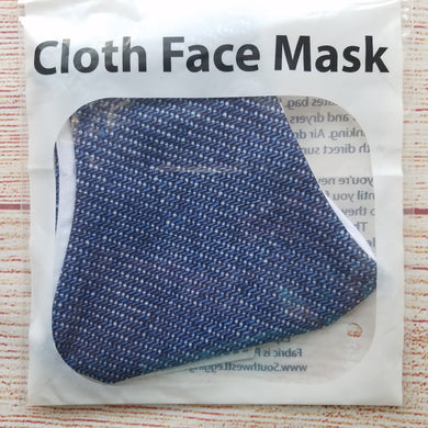 Men's Mask - Denim