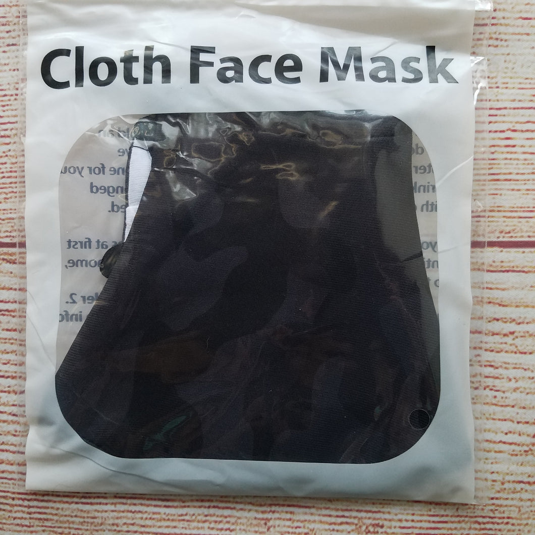 Men's Mask - Dark Camo