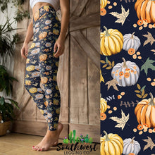 Pumpkin Patch - Yoga Waist Leggings