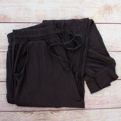 Solid Black - Jogger