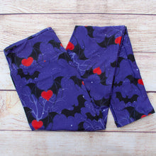 Heartbeat Bats - Yoga Waist Leggings