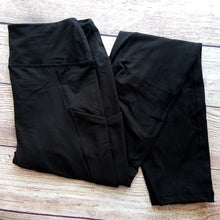 Black Pocket Leggings