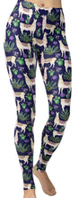 llama leggings buttery soft yoga waist