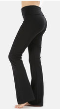 Boot Cut Yoga Pants - Cotton Spandex - CLEARANCE