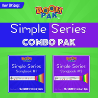 Simple Series 1&2 Combo Pak - Boomwhackers