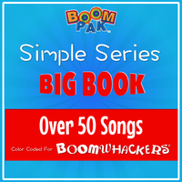 Simple Series - Big Book - Over 50 Songs! Boomwhackers Music Education Resource