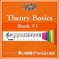 Theory Basics - Book #1 Boomwhackers Music Education Resource