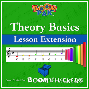 Theory Basics - Lesson Extension Pak Boomwhackers Music Education Resource