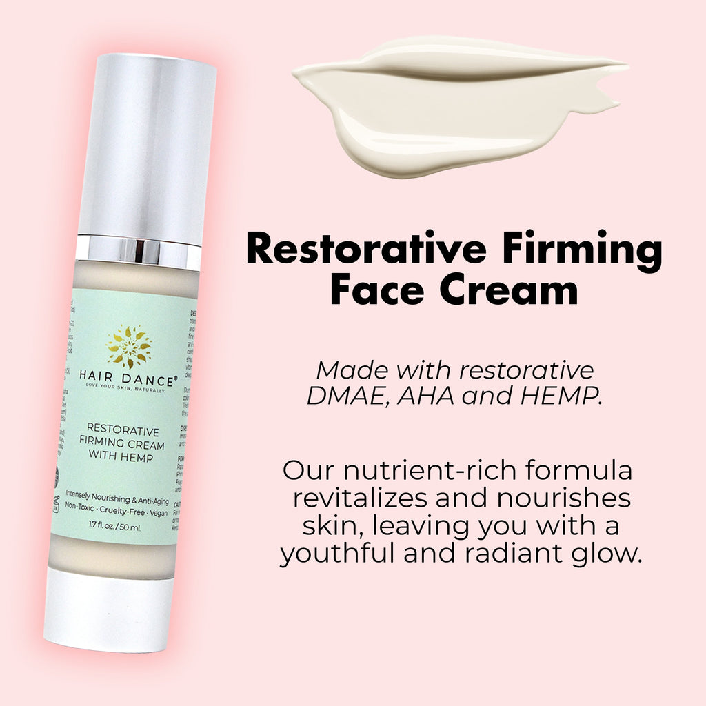 Restorative Firming Face Cream with Hemp