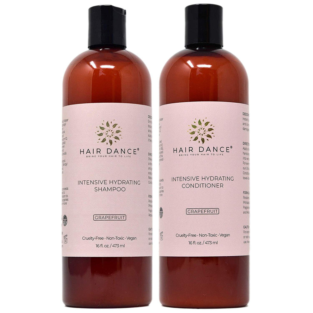 Intensive Hydrating Shampoo and Conditioner Set (8 oz. and 16 oz.) *Shake shampoo well before using if the product appears thin*