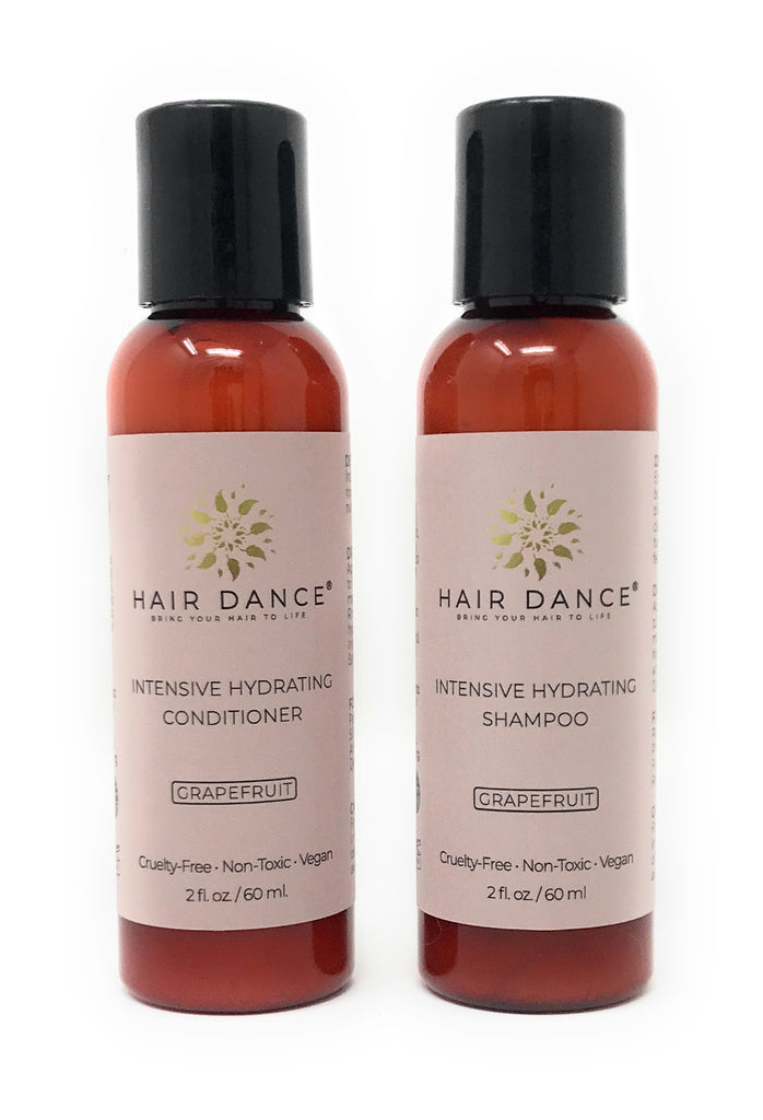Travel-Size Intensive Hydrating Shampoo and Conditioner Duo - 2 oz.