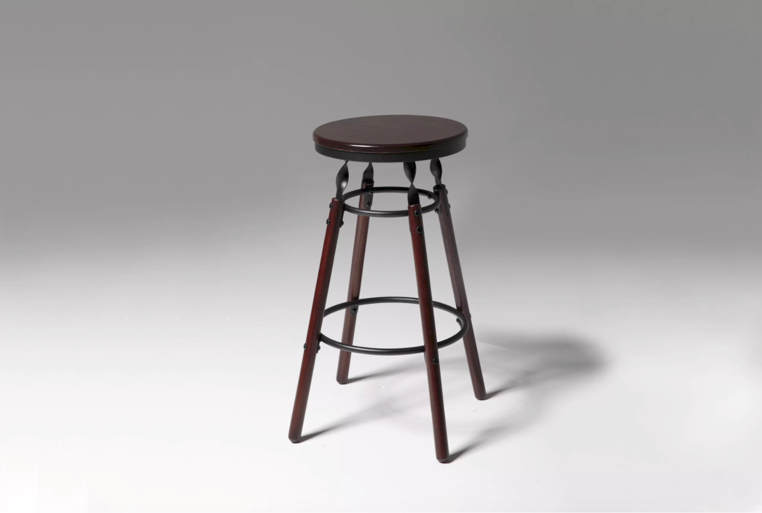 wood of black stools for leather back swivel brushed height stool ideas iron chairs pub cool wooden me high inch seat chair barstool large decmode near steel size low backs antique island sale kitchen metal with bar counter round design hayneedle that furniture inspiring wrought