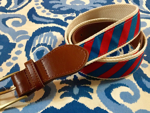 Blue/Red Rep Belt