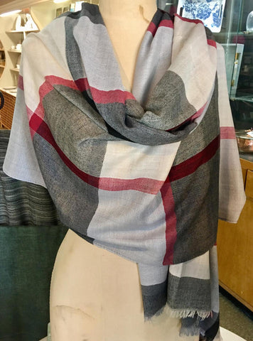 Window Pane Scarf