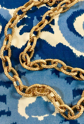 Anna Gold Link Necklace