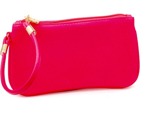 Suzanne Wristlet in Pink