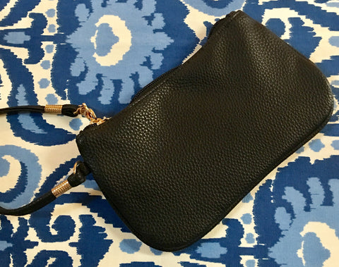 Suzanne Wristlet in Black