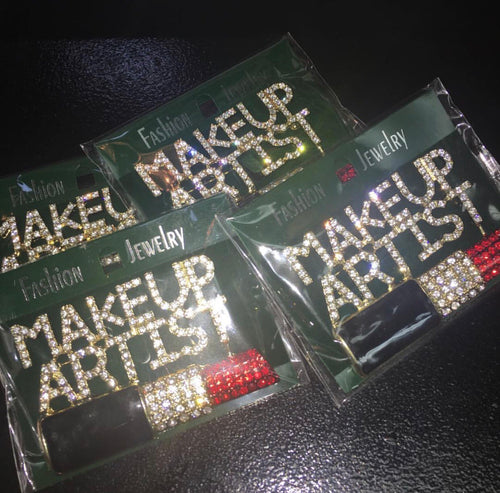 Makeup Artist Brooch