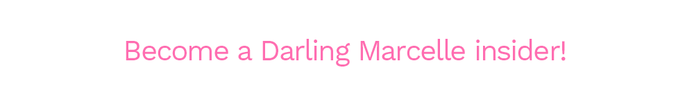 Darling Marcelle insider button